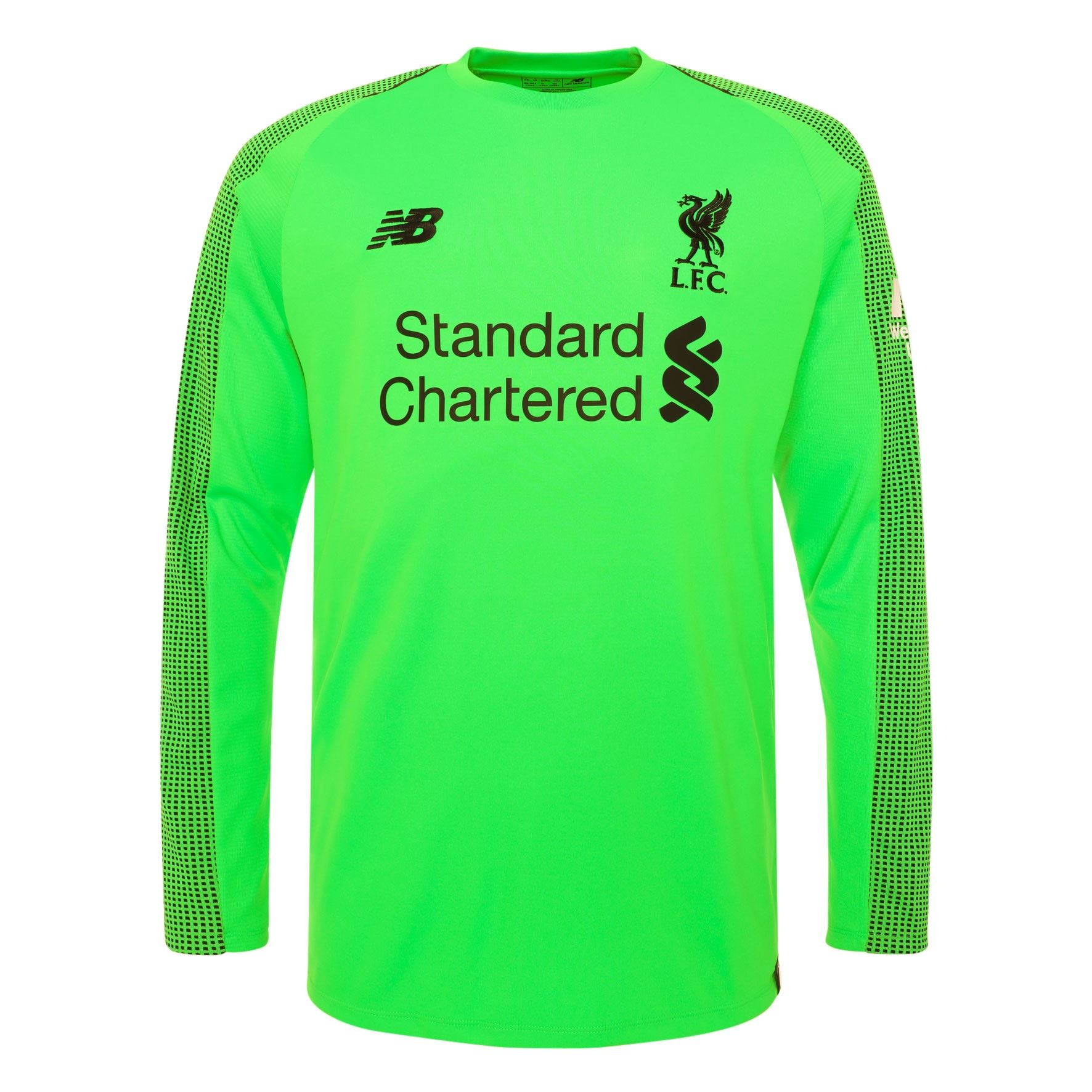 Liverpool FC Long Sleeve Boys Football Goalkeeper Away Shirt 18 19 LFC  Official 09670ee59