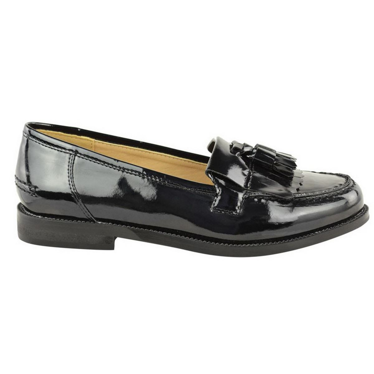 Black Tassel Shoes Size  Womans