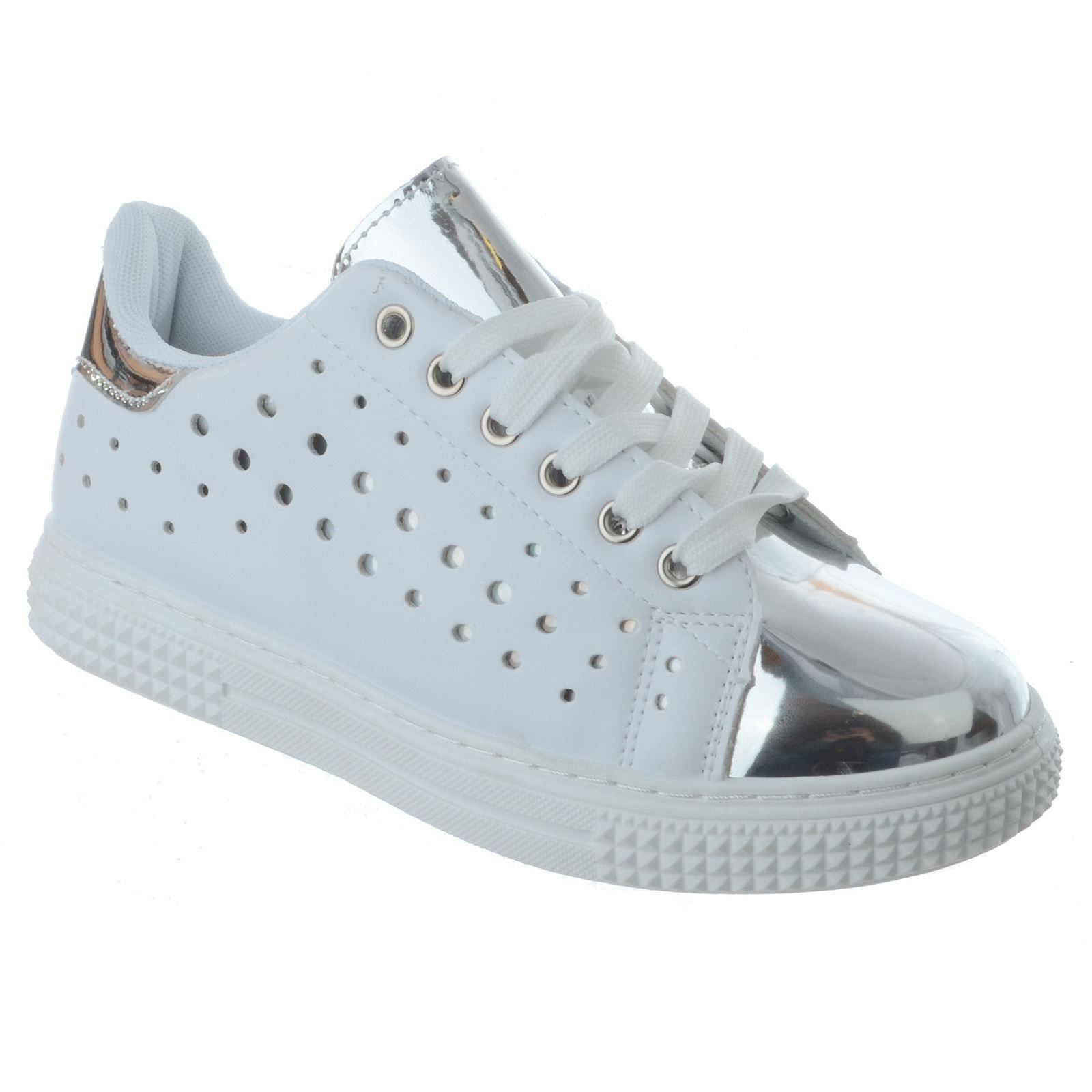 NEW LADIES FLAT LOW LACE UP TRAINERS Talla PUMPS Zapatos Mujer SNEAKERS Talla TRAINERS 8a11a7