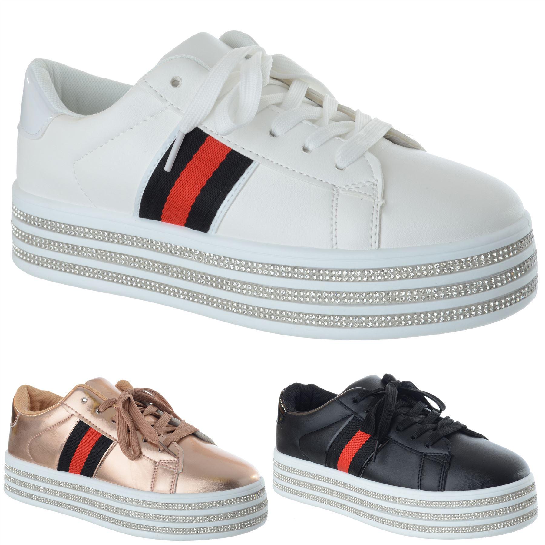Fashion Sneakers Sportschuhe mit NIETEN besetzt