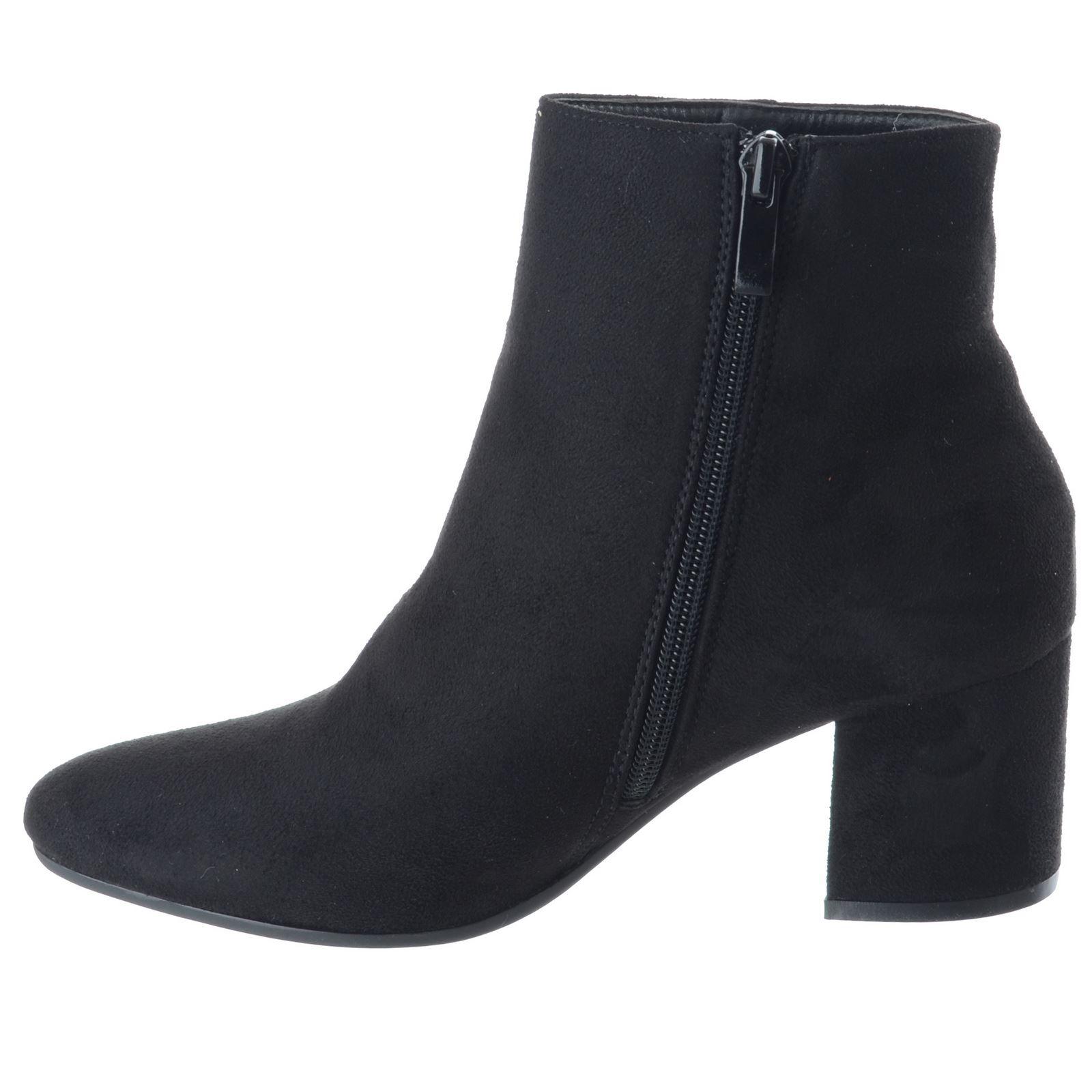Suede Talon Chaussures Bottes Taille Noir Equitation Faux Mid Zip Bloc Biker Ladies Chelsea Womens Bottines Up wxEqPZTg
