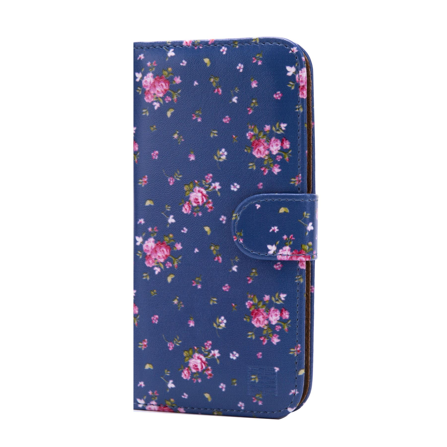 PU-Leather-Floral-Design-Book-Wallet-Case-Cover-For-Google-Pixel thumbnail 44