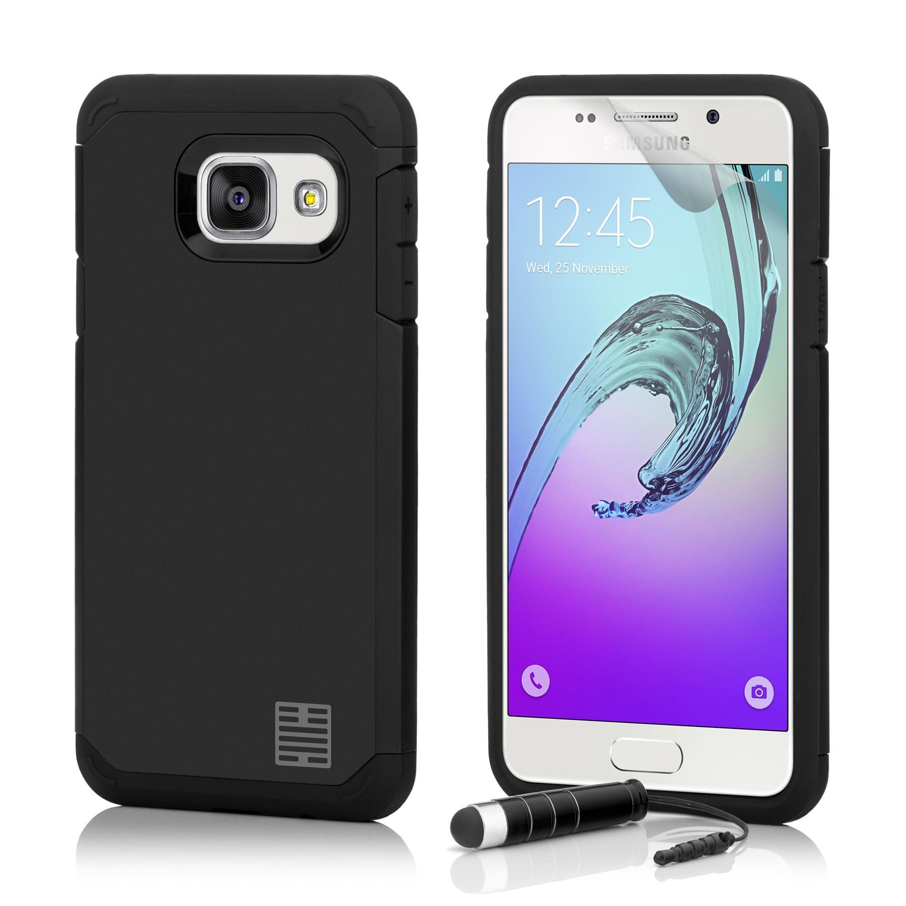 32nd Slim Armour Defender Case Cover For Samsung Galaxy A5 Sm A510 Original Clear Casing 2016 Picture 4 Of 6