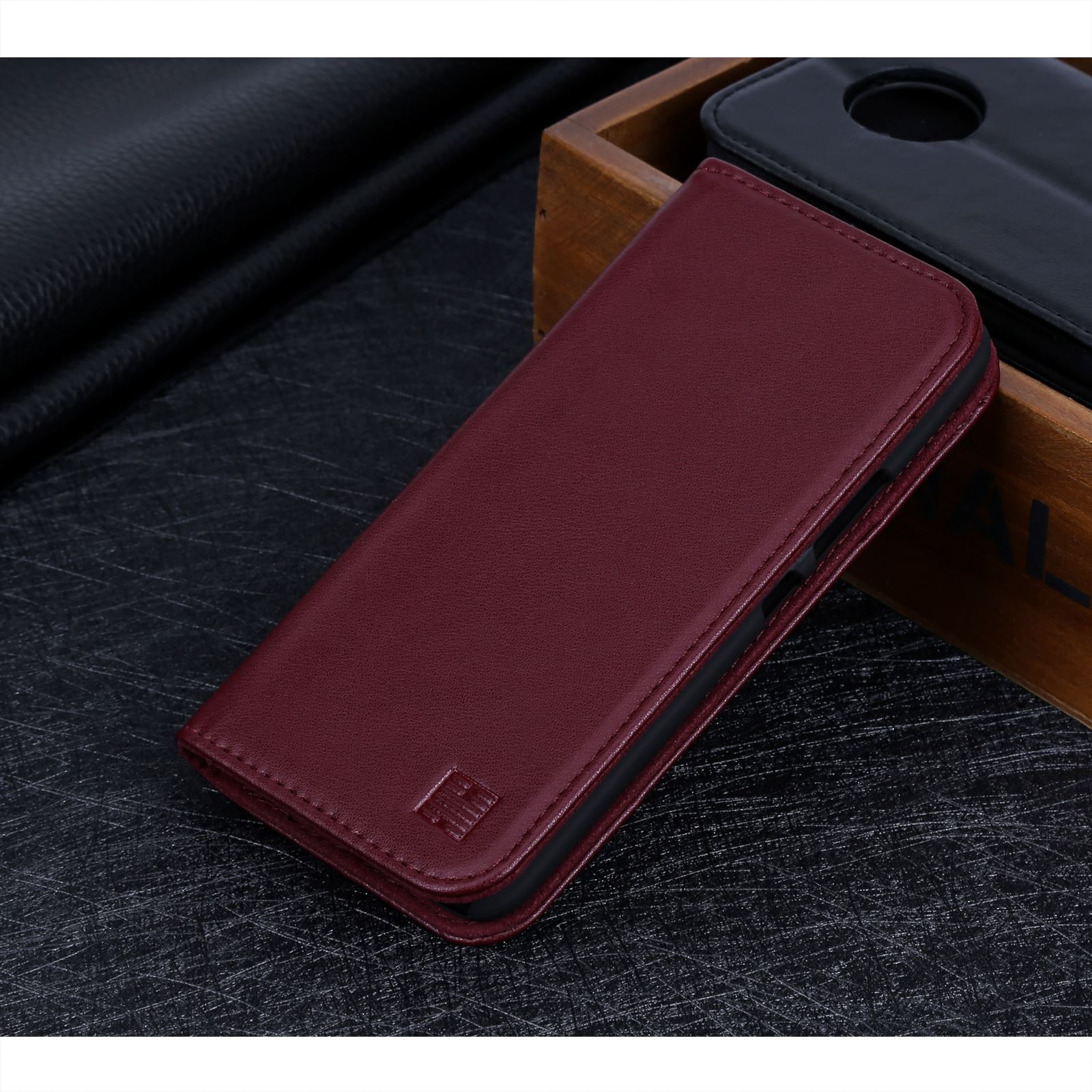 the best attitude 466c2 e2852 Details about 32nd Classic Series - Real Leather Book Wallet Case For  Motorola Moto X4 (2017)