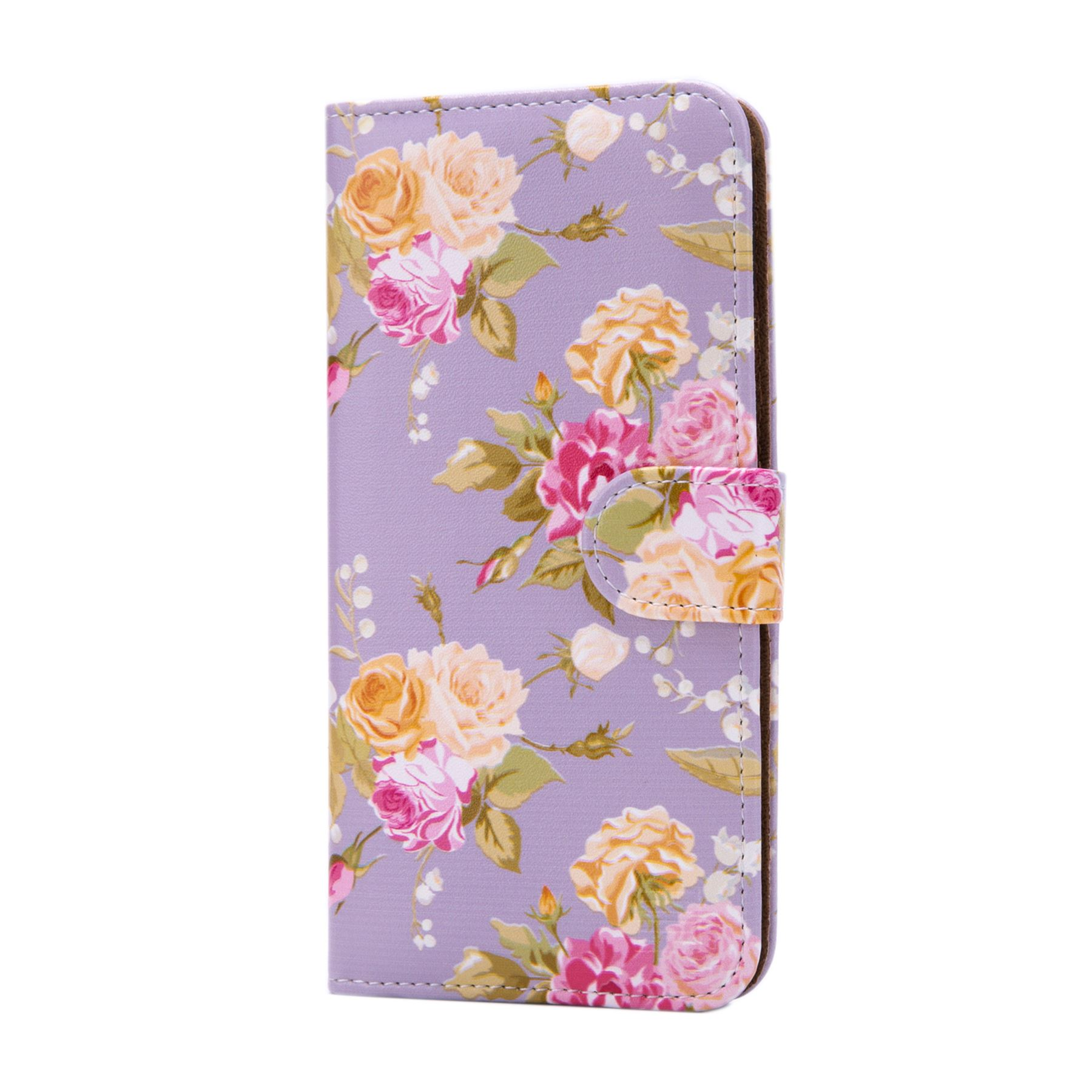 PU-Leather-Floral-Design-Book-Wallet-Case-Cover-For-Google-Pixel thumbnail 38