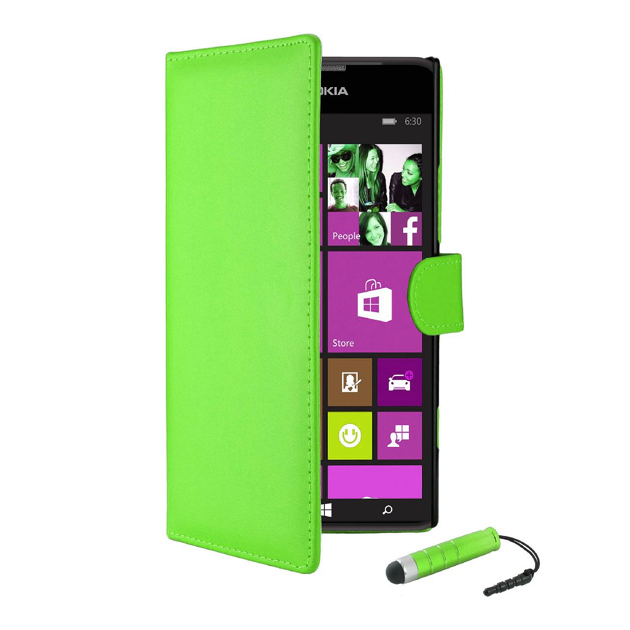 32nd-Book-Series-Synthetic-PU-Leather-Flip-Wallet-Case-Cover-Nokia-Lumia-630 thumbnail 15