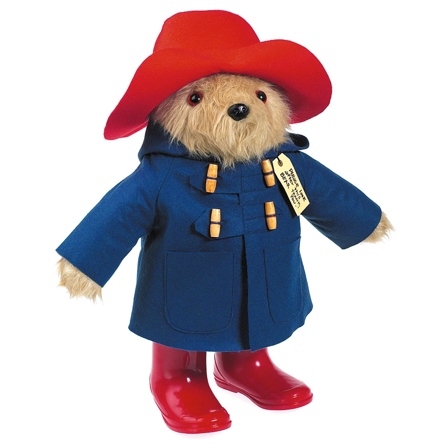 Large Collector Edition Paddington Bear With Boots Cuddly Plush Soft Toy