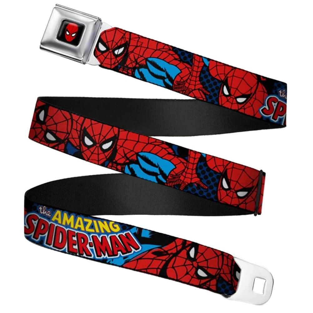 Marvel-Amazing-Spider-Man-Webbing-Seatbelt-Buckle-Belt