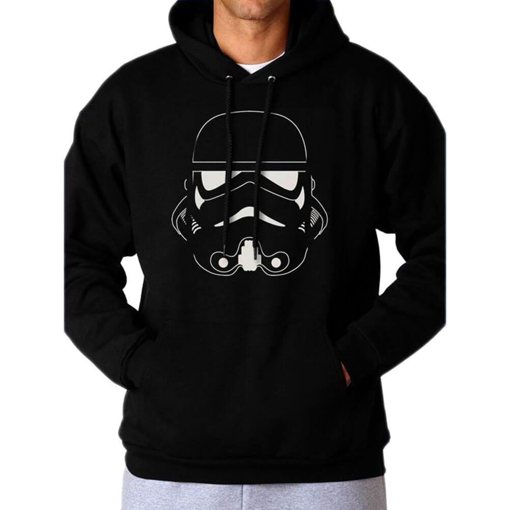 Officially Licensed Star Wars Storm Trooper First Order Mens Hoodie Jumper
