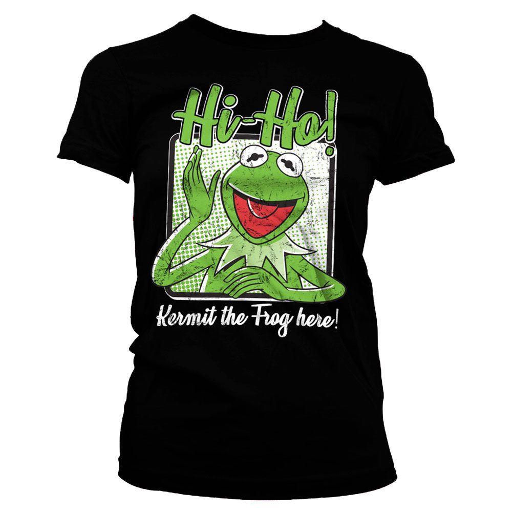 Disney Pantalones de sal/ón Estampados Kermit The Frog para Hombre Muppets