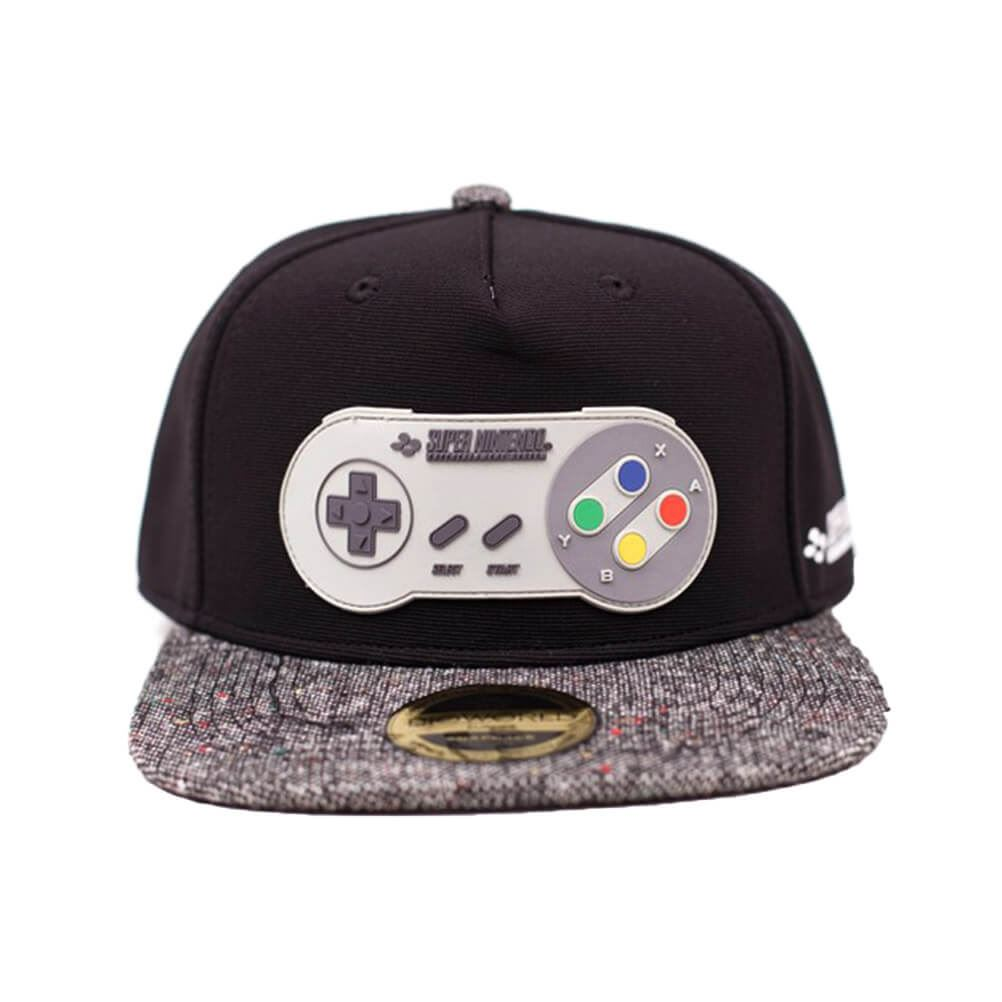 separation shoes 802b0 b74c9 Details about Official Licensed Super Nintendo Controller Rubber Patch  Snapback Cap