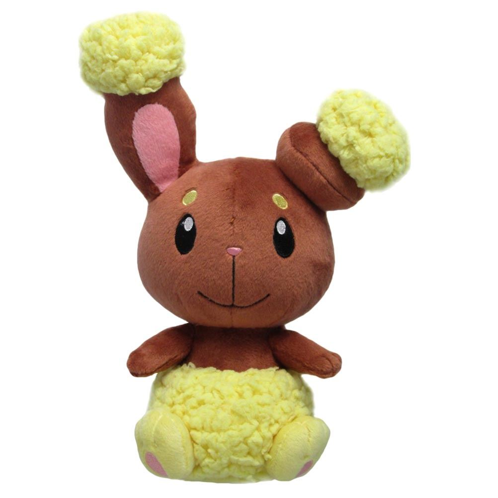 Official Sanei Pokemon Buneary Plush Soft Toy 8 Go Collectable