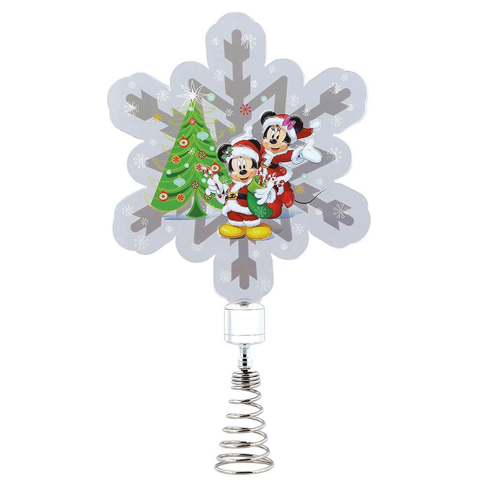 Mickey Christmas Tree Topper: Official Licensed Disney Mickey And Minnie Mouse Christmas