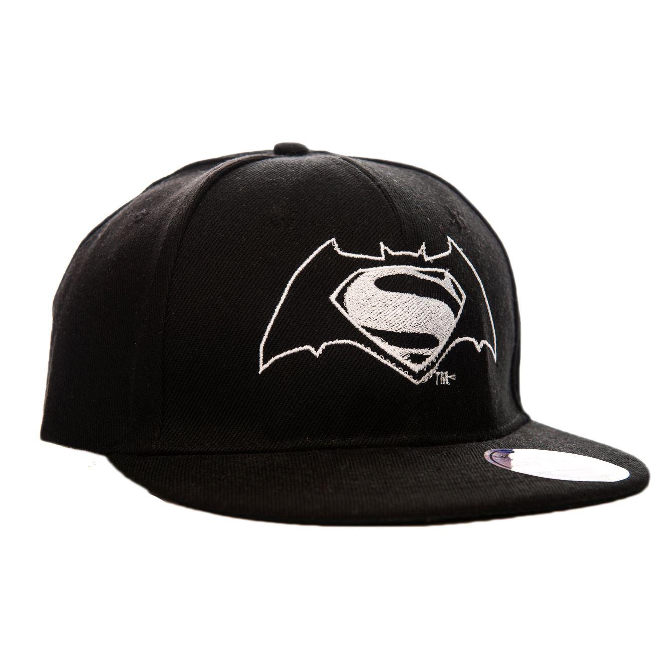 bbe48f99f9ba6 DC COMICS BATMAN CONTRA SUPERMAN LOGO GORRA SNAPBACK Dawn of ...