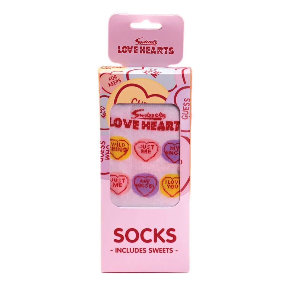 Swizzels Parma Violets Socks Medium With Sweets Gift Set Size 4-7