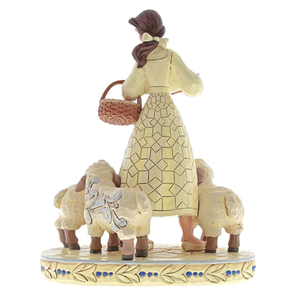 Official Licensed Disney Traditions /'Bookish Beauty/' Belle with Sheep Figurine