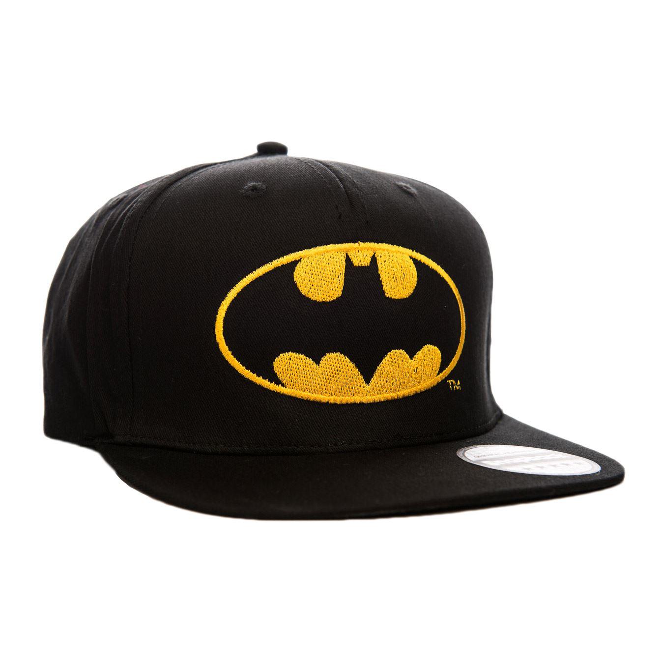 DC Comics Oficial Logo Batman Gorra Snapback Con Amarillo Logo ... 6bdaa58560a