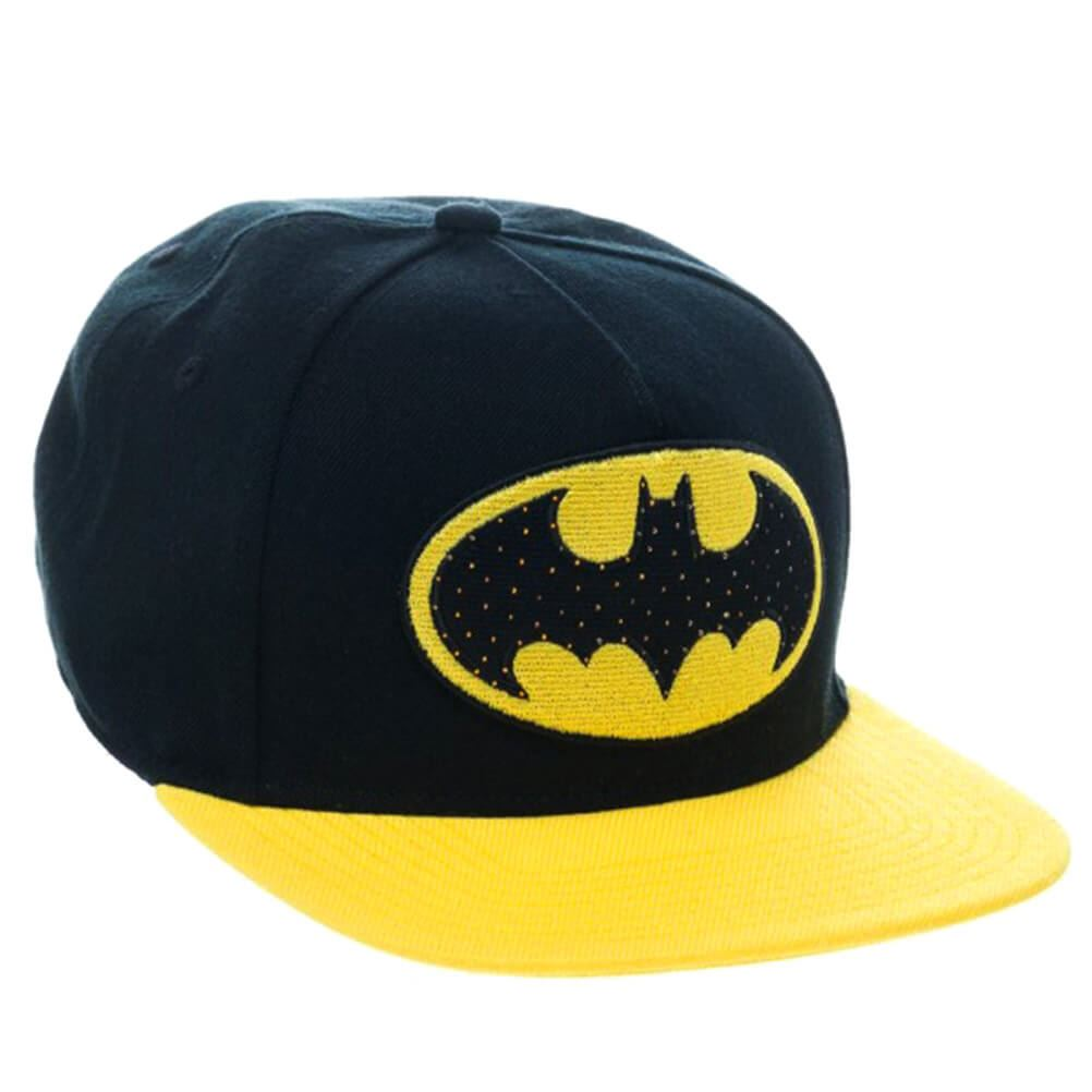 Oficial Dc Comics Batman fibra óptica LOGO CON LUZ GORRA SNAPBACK ... 301e362bcec