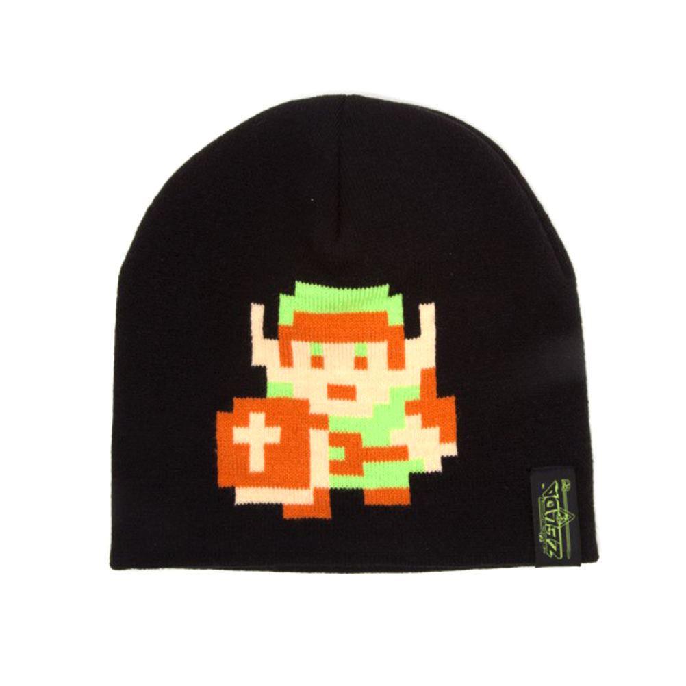 e806fcb3a90 Details about Official Legend of Zelda 8-Bit Link Pixel Design Beanie Winter  Hat Cap