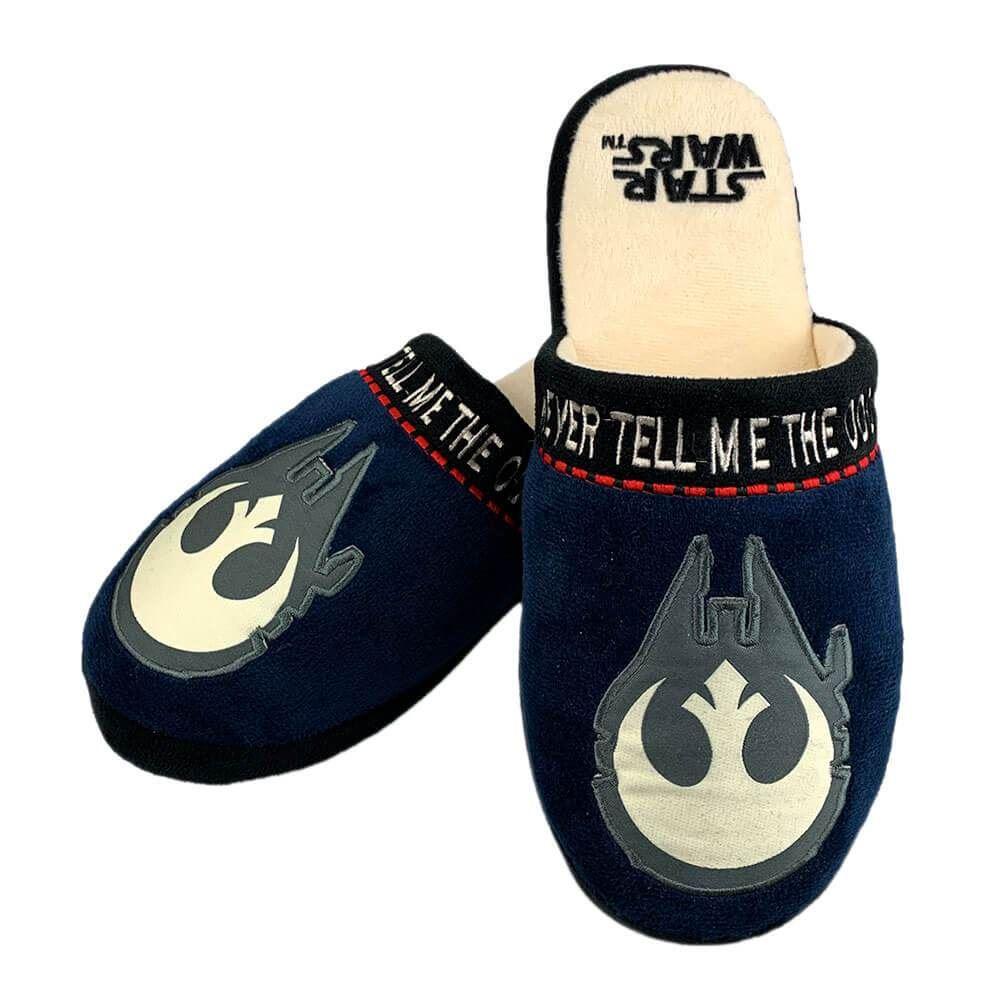 UK 8-10 Jedi Star Wars Slippers Brown Large