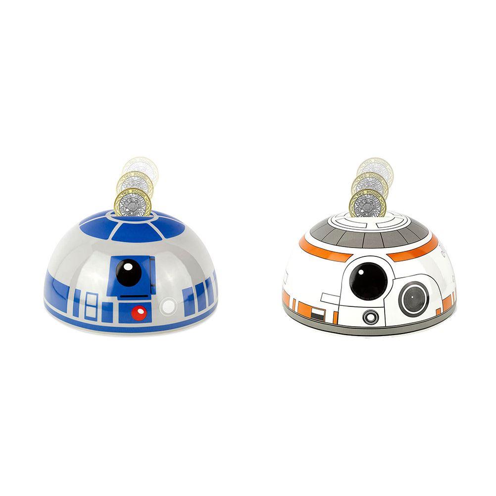 """Star Wars BB-8 Droid Ceramic 3D Coin Piggy Bank 8/"""" x 6/"""""""