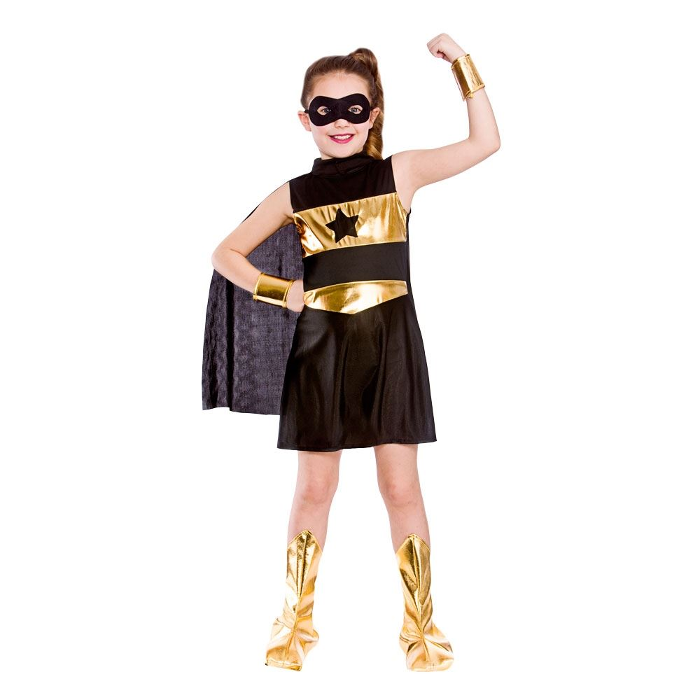 Comic Girl Costume Clothes