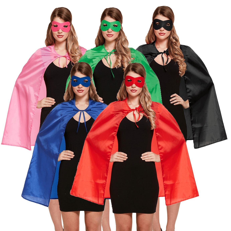 CHILD SUPERHERO CAPE 75CM HALLOWEEN FANCY DRESS BOOK CHARACTER COSTUME HEROES