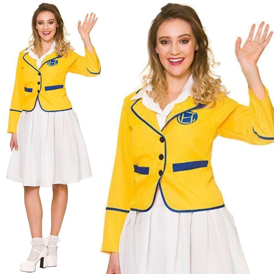 Hi De Hi Holiday Camp Mens Fancy Dress 1980/'s Host Rep Adults 80s Yellow Costume
