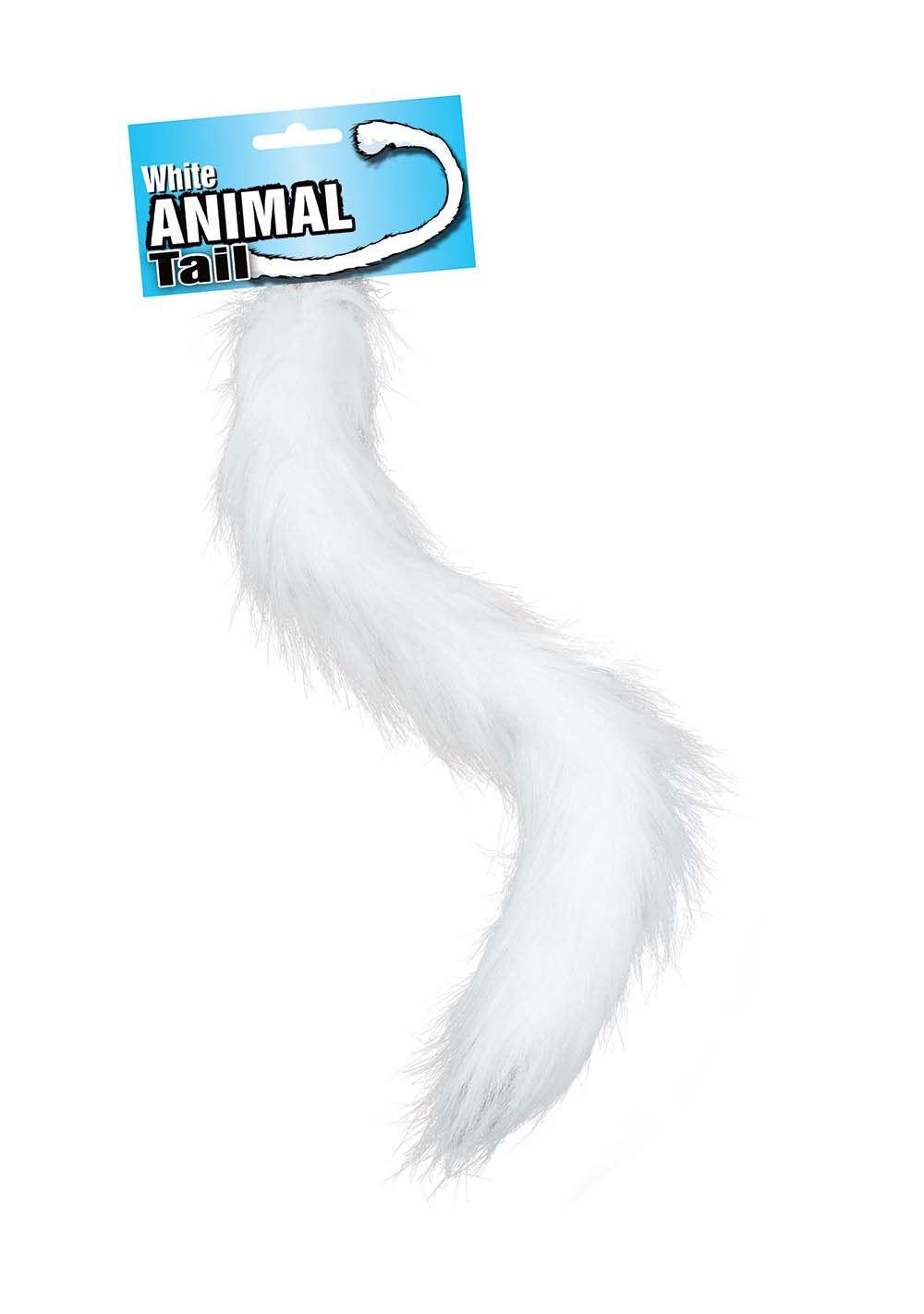 50cm lunga coda di pelliccia Animale Gatto Cane Volpe Leone Scimmia Cane Lupo Costume Halloween