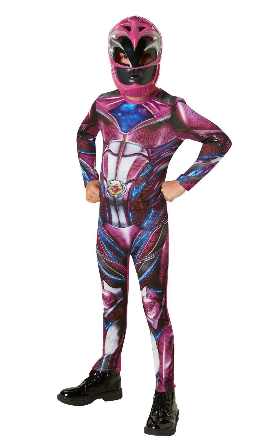 Power Rangers 2017 Movie Kids Fancy Dress Superhero Ranger Boys ...