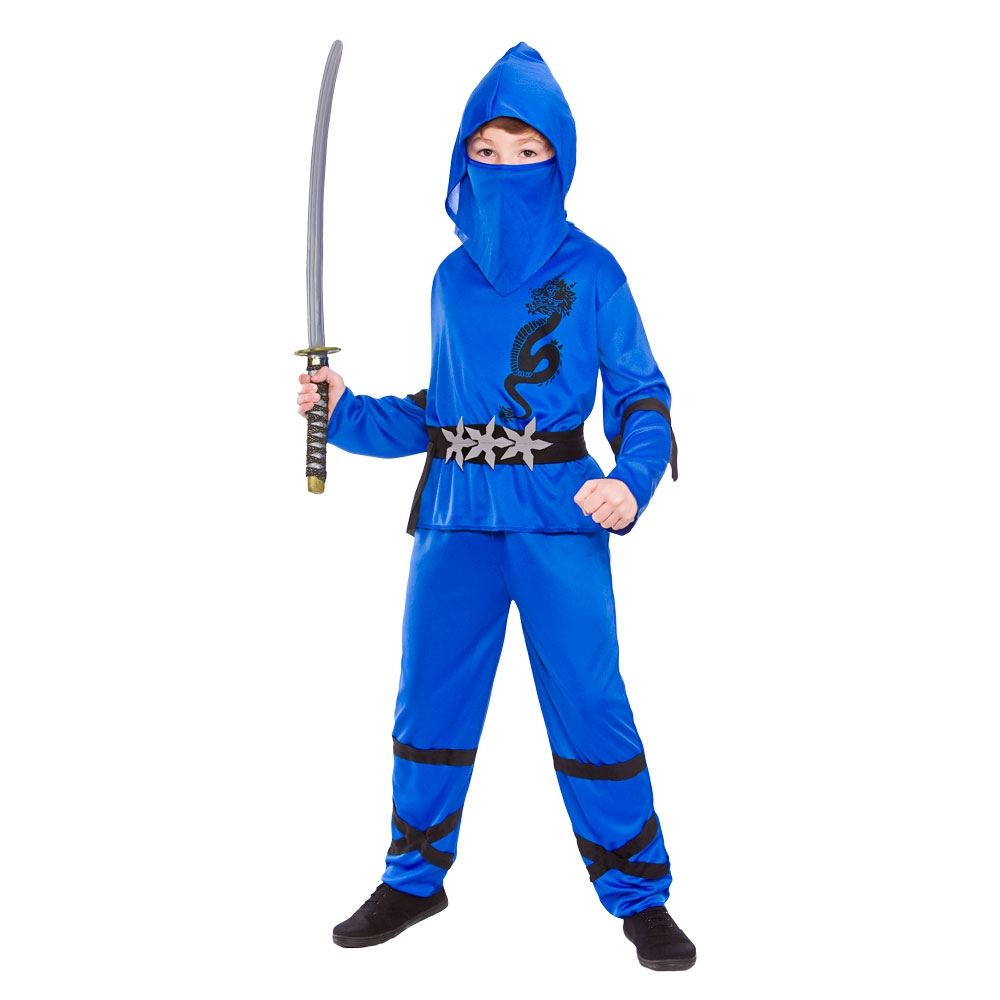 Kids New Power Ninja Japanese Samurai Warrior Martial