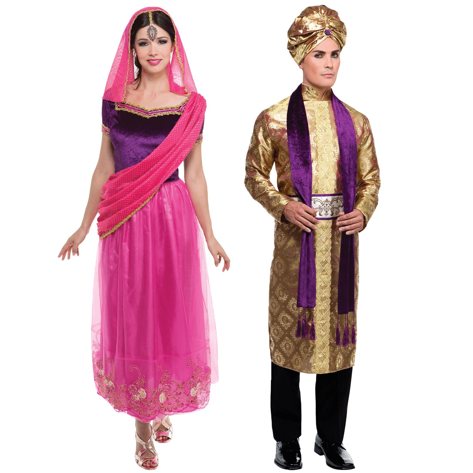 Details About Adult Bollywood Costume Men Ladies Arabian Fancy Dress Woman  Belly Dancer Outfit