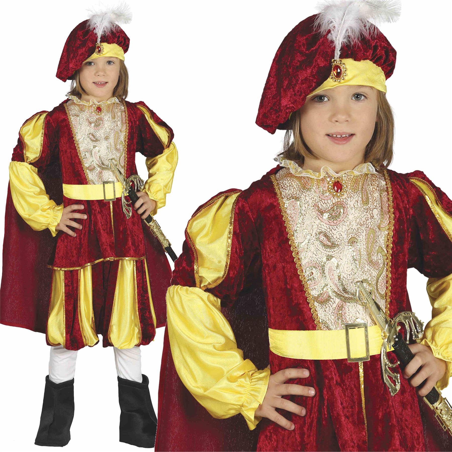 Adult Black/Gold Renaissance Prince Costume - Candy Apple