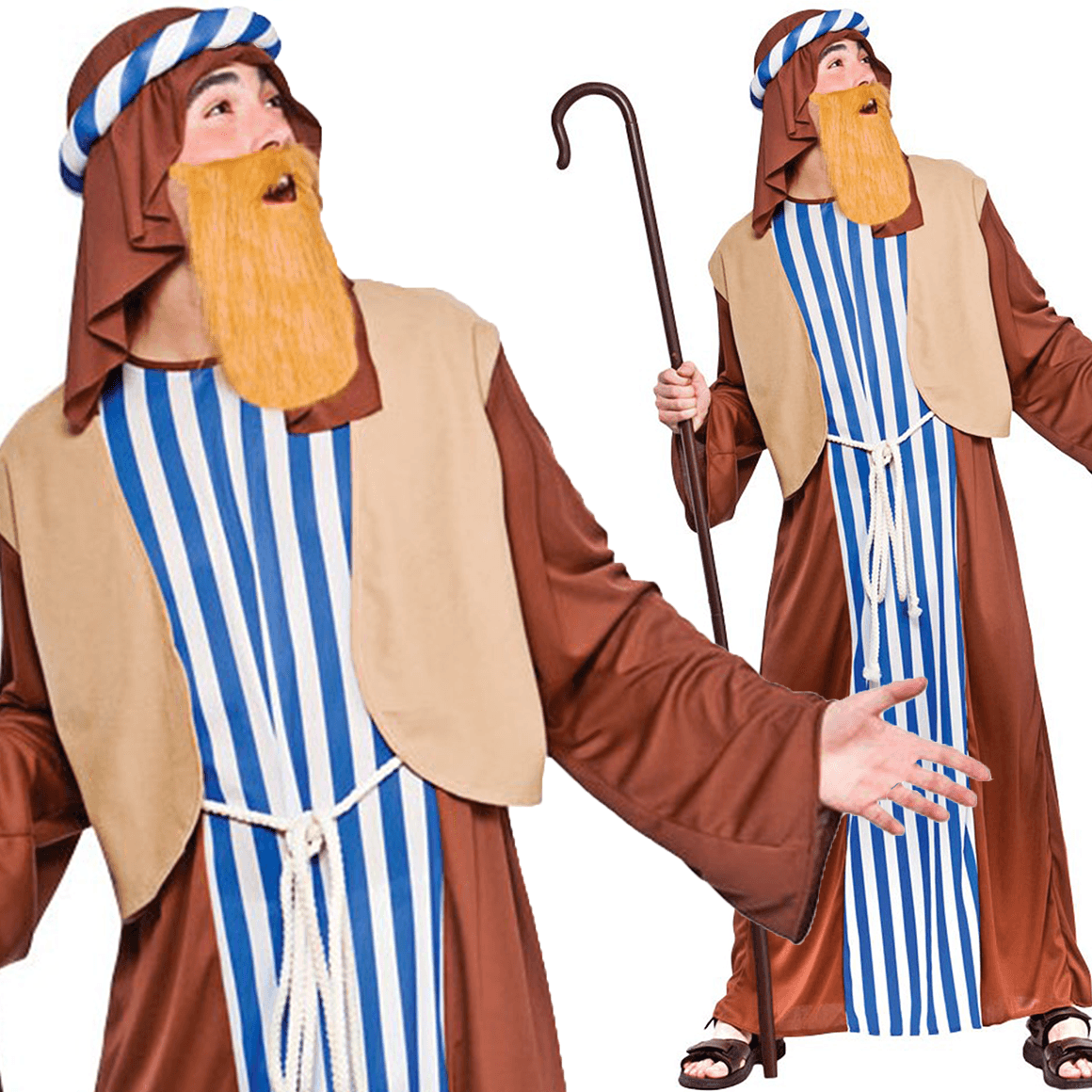 Adult Saint Joseph Christmas Nativity Costume