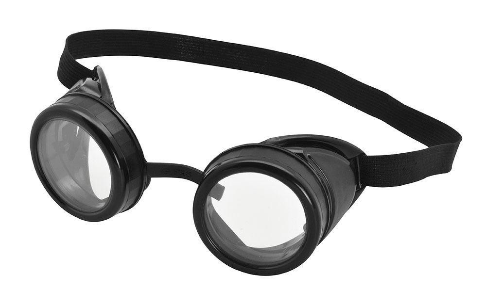 Adulti Nero Occhiali Pilota Aviatore Minion Steampunk Occhiali Costume Accessorio-mostra Il Titolo Originale Lieve E Dolce