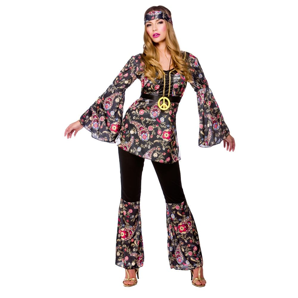 1960s style peace lovin hippie hippy fancy dress party halloween