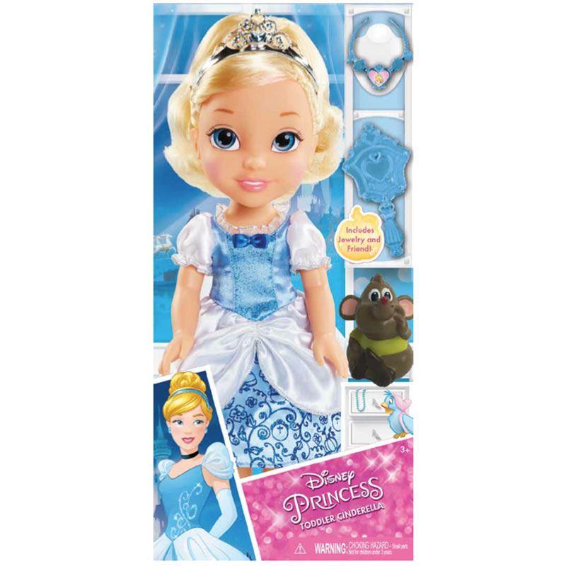 Disney Princess Toddler Doll Cinderella: Disney Princess Toddler Doll Anna/ Elsa/ Jasmine/ Ariel