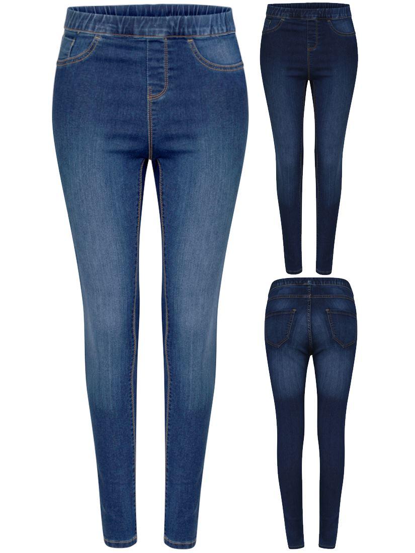 7fc4c568ed3 Womens Stretch Denim Jeggings Pocket Plus Size 16 18 20 22 24