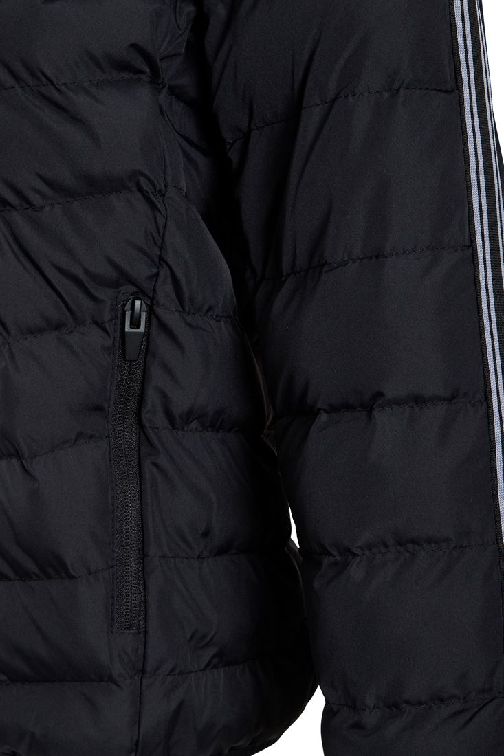 Boys-Padded-Coat-Quilted-Lined-Hooded-Jacket-Age-7-8-9-10-11-12-13-Black thumbnail 5