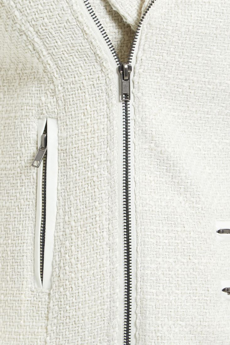 Womens-Wool-Blend-Blazer-Jacket-Ladies-Coat-Size-8-10-12-14-16-Black-New thumbnail 9