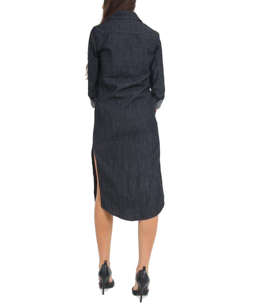 ff34b1bd70c Denim Shirt Dress Size 14 - DREAMWORKS