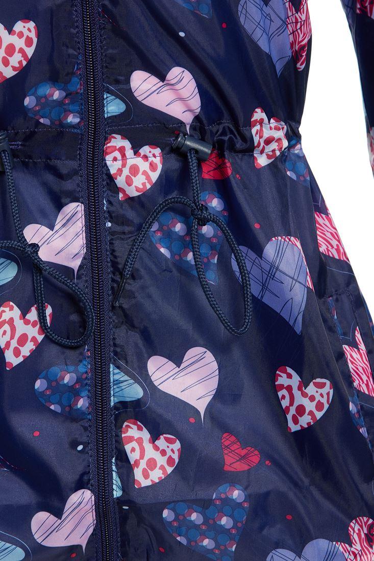 Girls-Rain-Mac-Showerproof-Raincoat-Jacket-Ages-Size-7-to-13-Years-Hooded-Coat