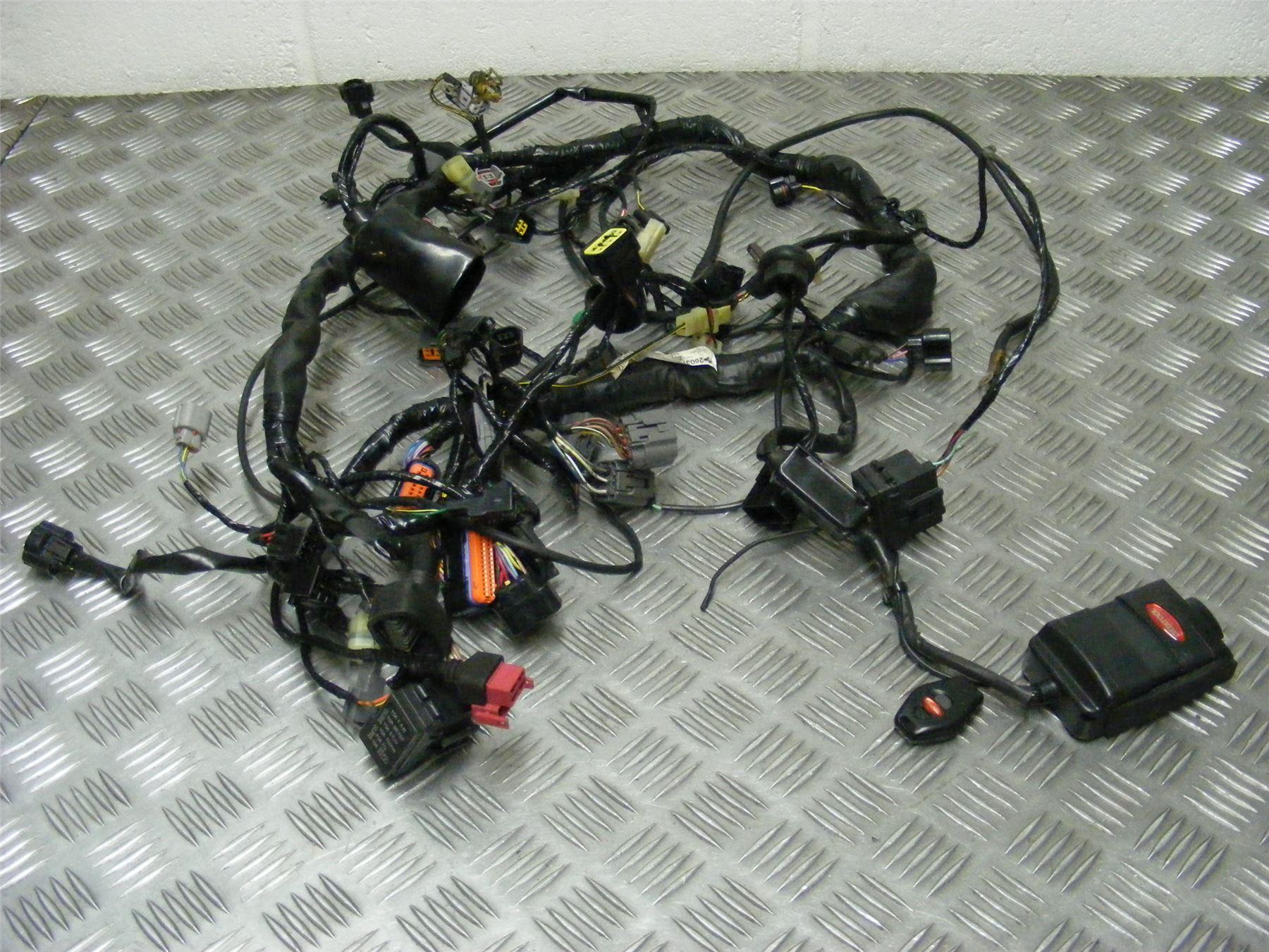 Kawasaki Z750 Zr750 Z Zr 750 Lbf 2012 Wiring Harness Loom Alarm Wire 274