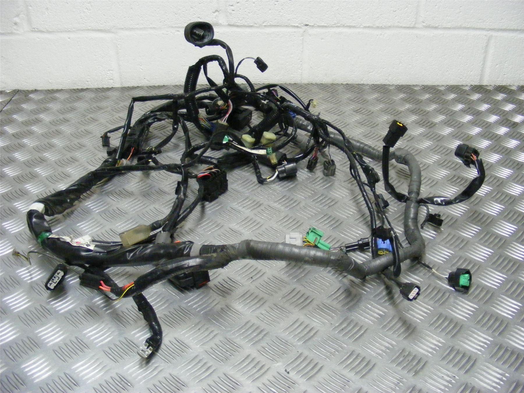 Kawasaki Zzr1400 Zzr 1400 Zx14r Zx14 2012 Wiring Harness Loom 140 Adly