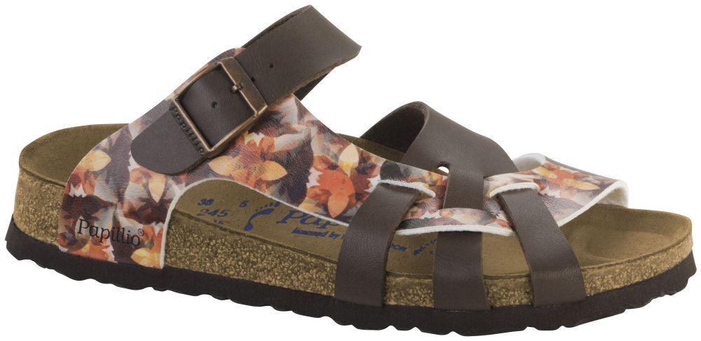 Birkenstock Pisa Caleidoscope Brown SFB Narrow All Sizes