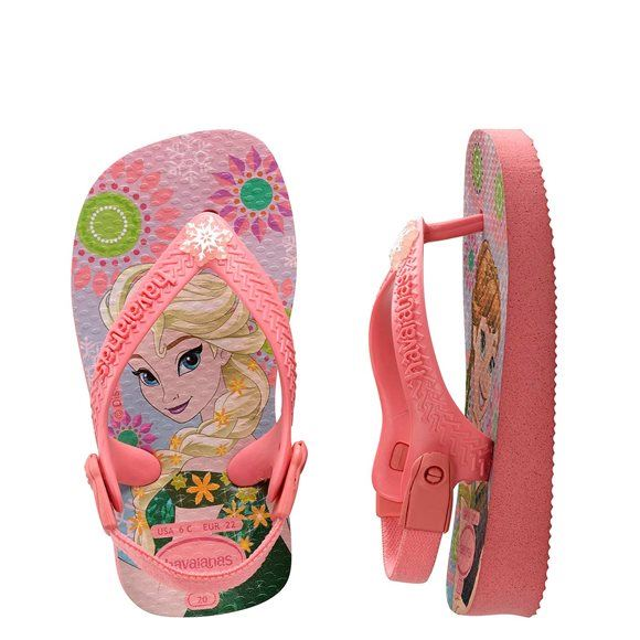 Anna Frozen Flip Flops Princess Baby Havaianas Kids Rubber Elsa 7f6gvyYb