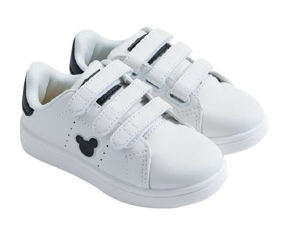 Disney Mickey Mouse Black Trainers
