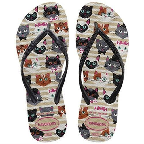 39e8cb5c17e55 Havaianas Slim Pets CF Shocking Pink Sand Grey Women Flip Flops All ...
