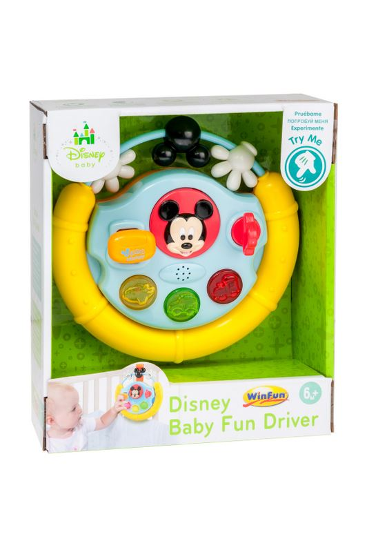 Winfun Disney Baby Mickey Mouse Baby Fun Phone Craetive Sounds Effect Toy Babypuppen & Zubehör
