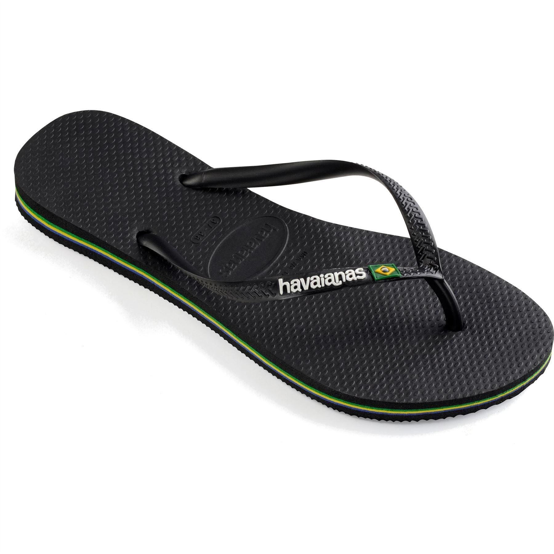 1cd892da8fc5 Havaianas Brasil Logo Men s Youth Flip Flops Sandals Vary Size ...